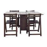 60 Off Bed Bath Beyond Bed Bath Beyond Wooden Folding Table Set Tables