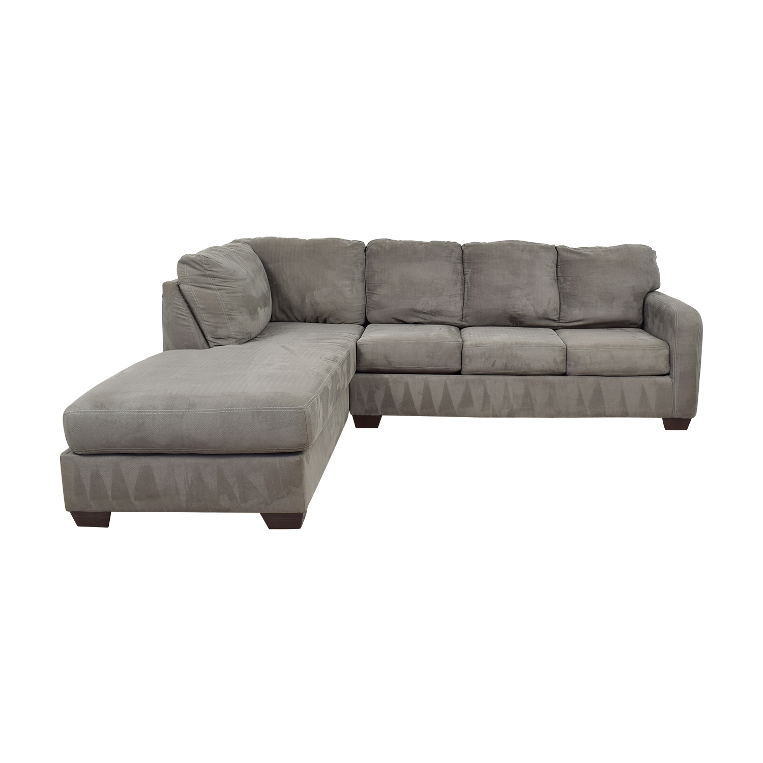 47 off ashley furniture ashley furniture grey chaise sectional sofas