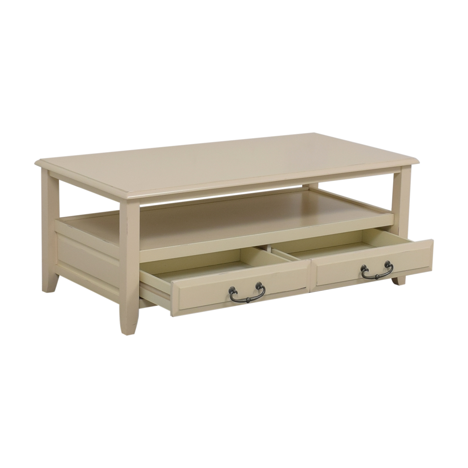 70 off pier 1 pier 1 imports white two drawer coffee table tables