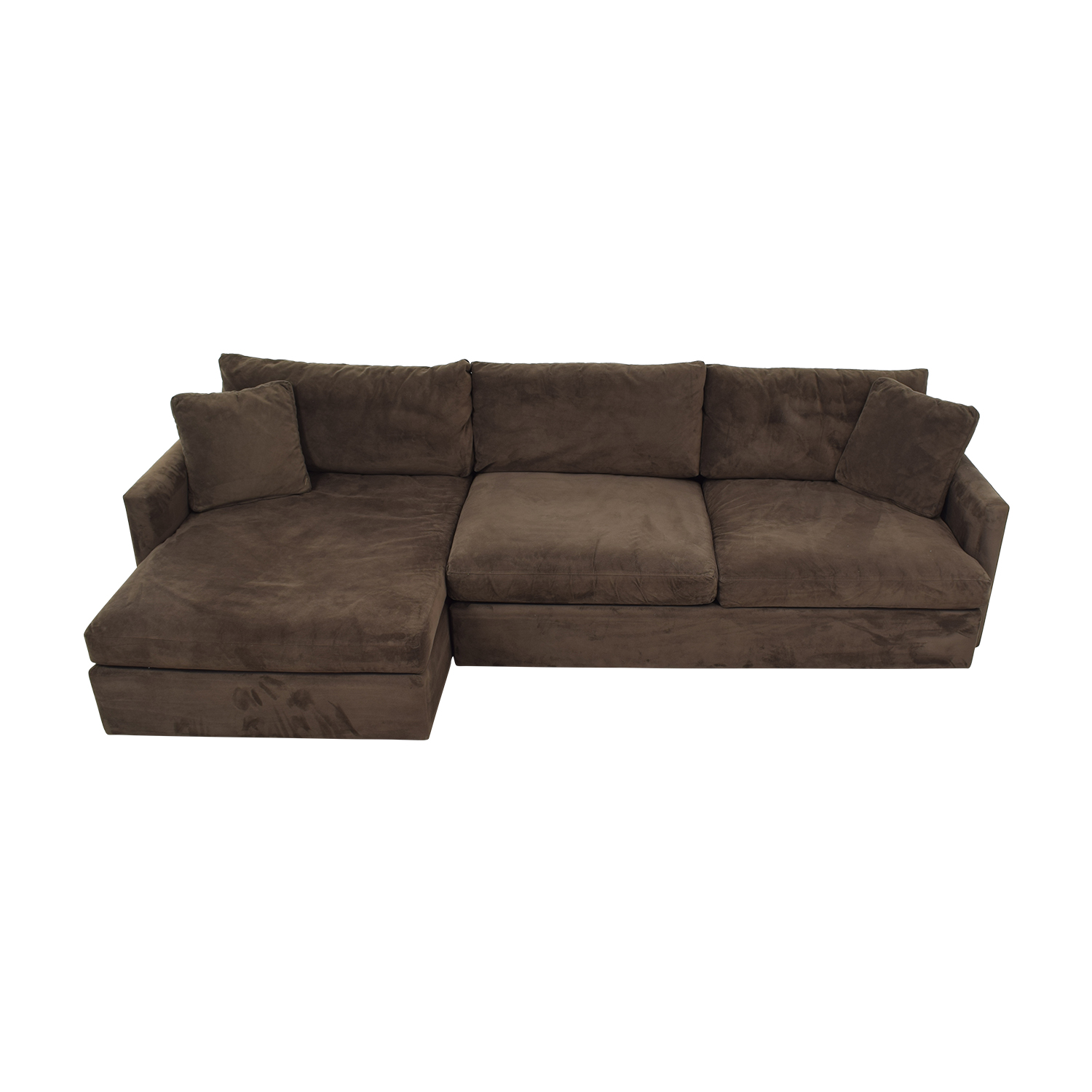 77 Off Crate Barrel Crate Barrel Sofa Sectional With Chaise Sofas
