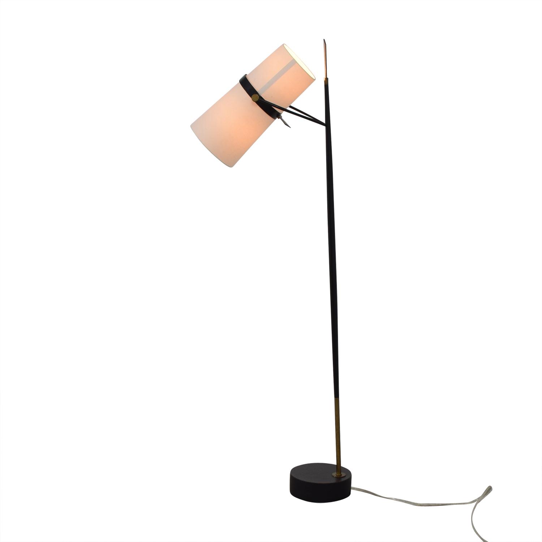 54% OFF - Crate & Barrel Crate & Barrel Riston Floor Lamp ... on Riston Floor Lamp  id=93477