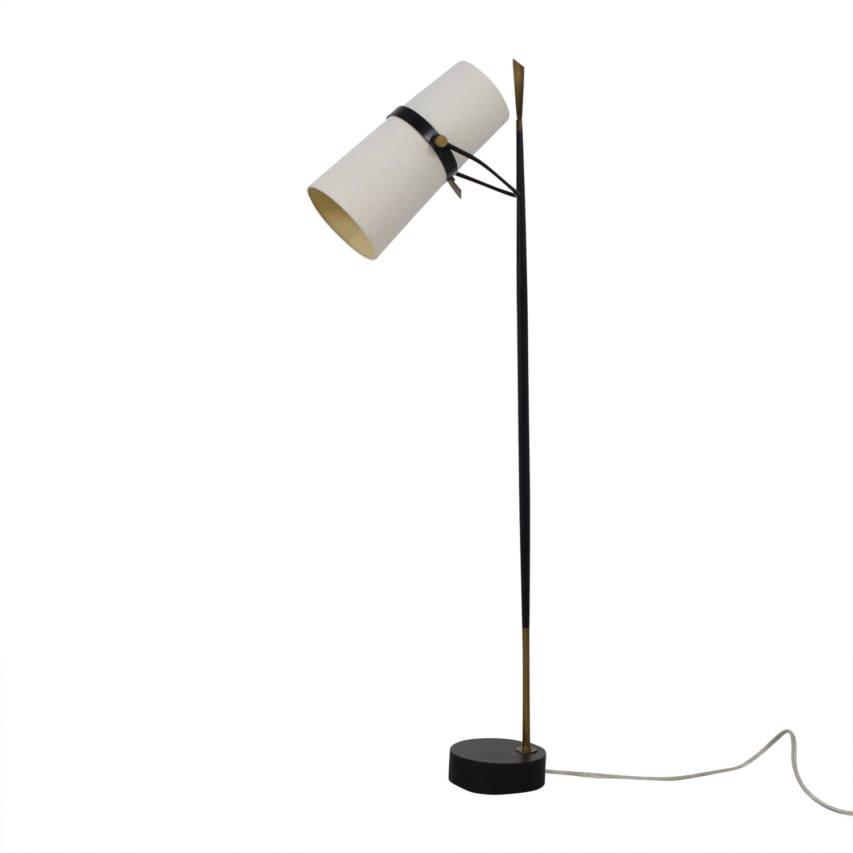 54% OFF - Crate & Barrel Crate & Barrel Riston Floor Lamp ... on Riston Floor Lamp  id=16507