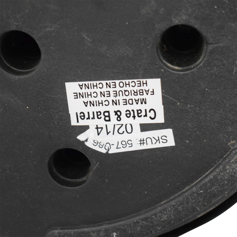 54% OFF - Crate & Barrel Crate & Barrel Riston Floor Lamp ... on Riston Floor Lamp  id=37679