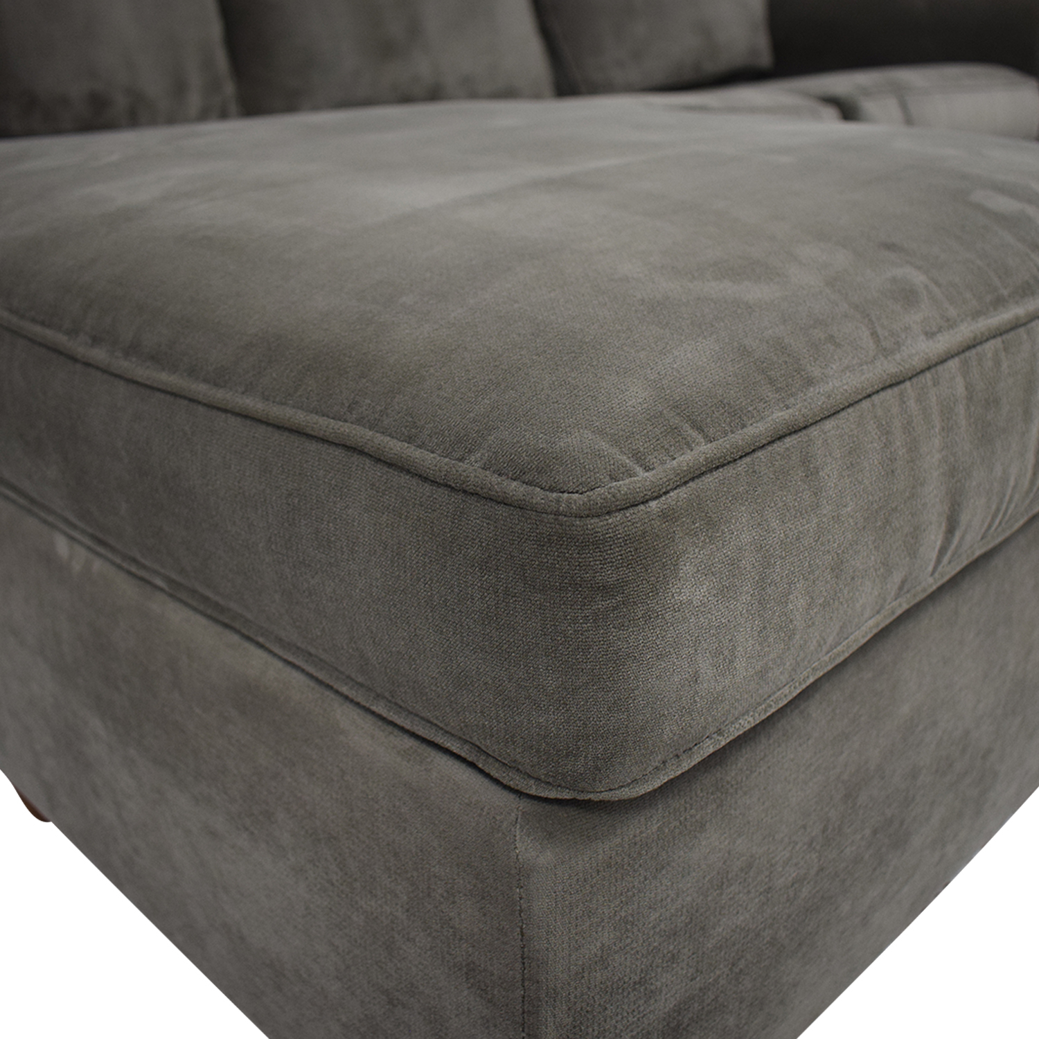 77 off macy s macy s lidia chaise sectional queen sleeper sofa sofas
