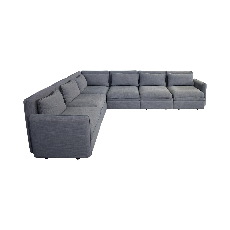 70 off ikea ikea six piece sectional sleeper sofa sofas