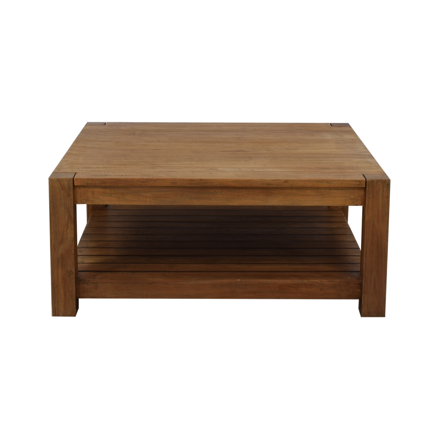 66 off crate barrel crate barrel edgewood square coffee table tables