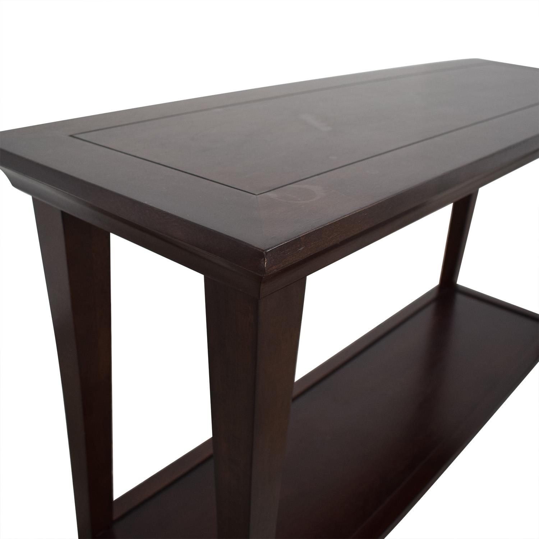 76 off pottery barn pottery barn metropolitan console table tables