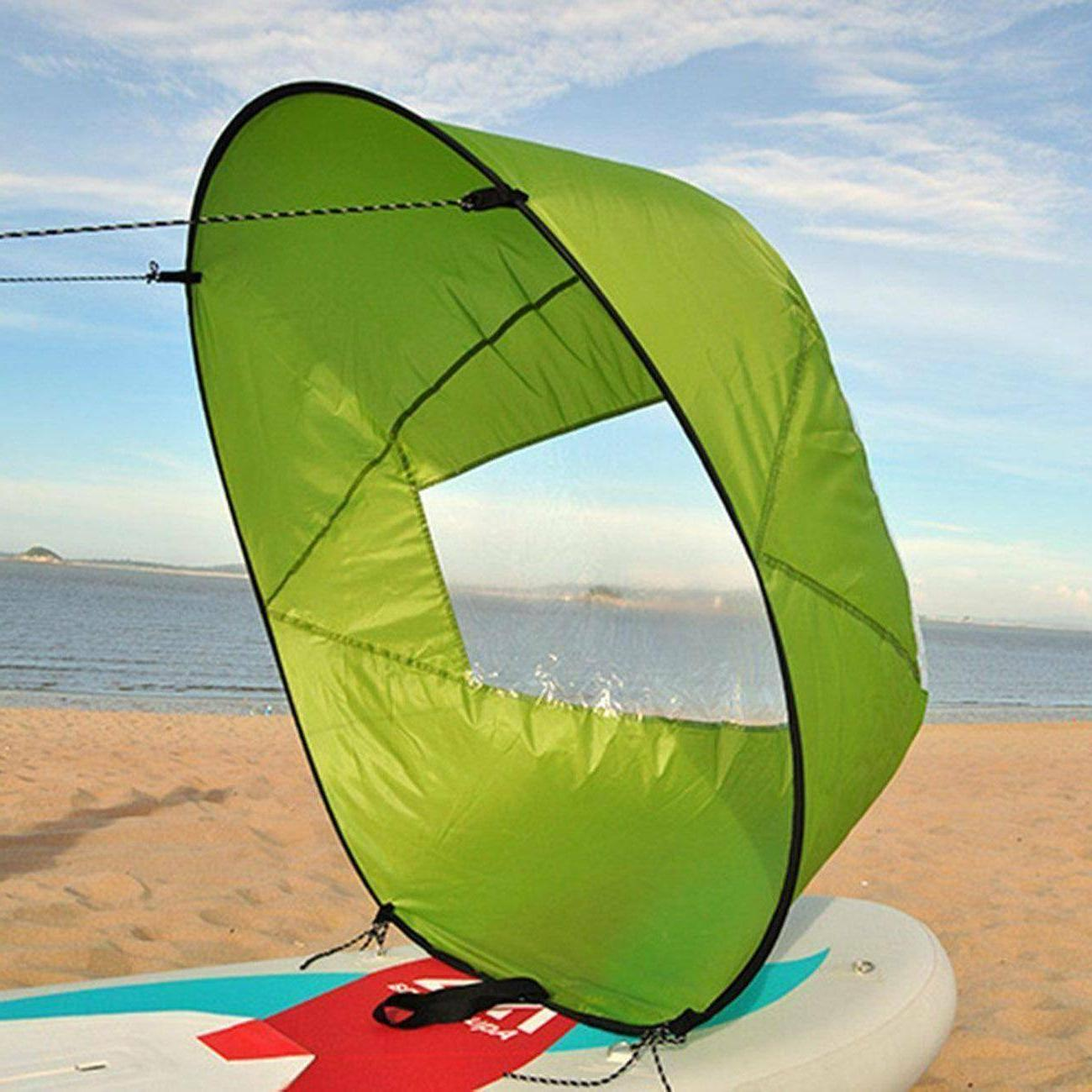 42 Foldable Downwind Wind Paddle Popup Board For