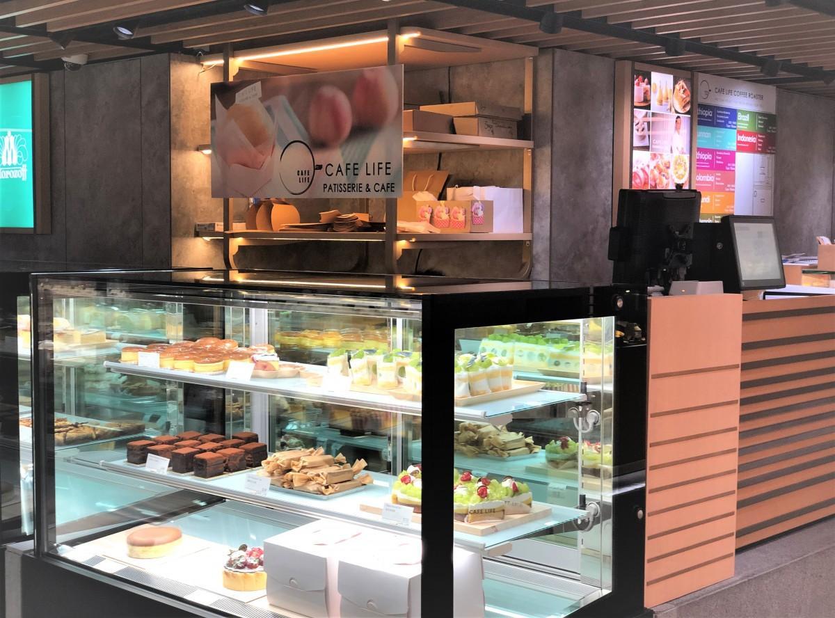 香港で人気のカフェ「CAFE LIFE」がケーキ専門店 銅鑼灣SOGOに進出 - 香港経済新聞