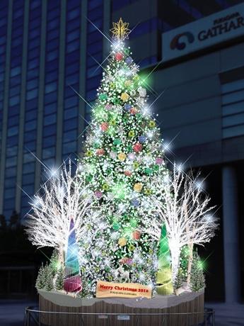 木場「深川ギャザリア」でイルミ点灯へ LED32万球で幻想世界演出