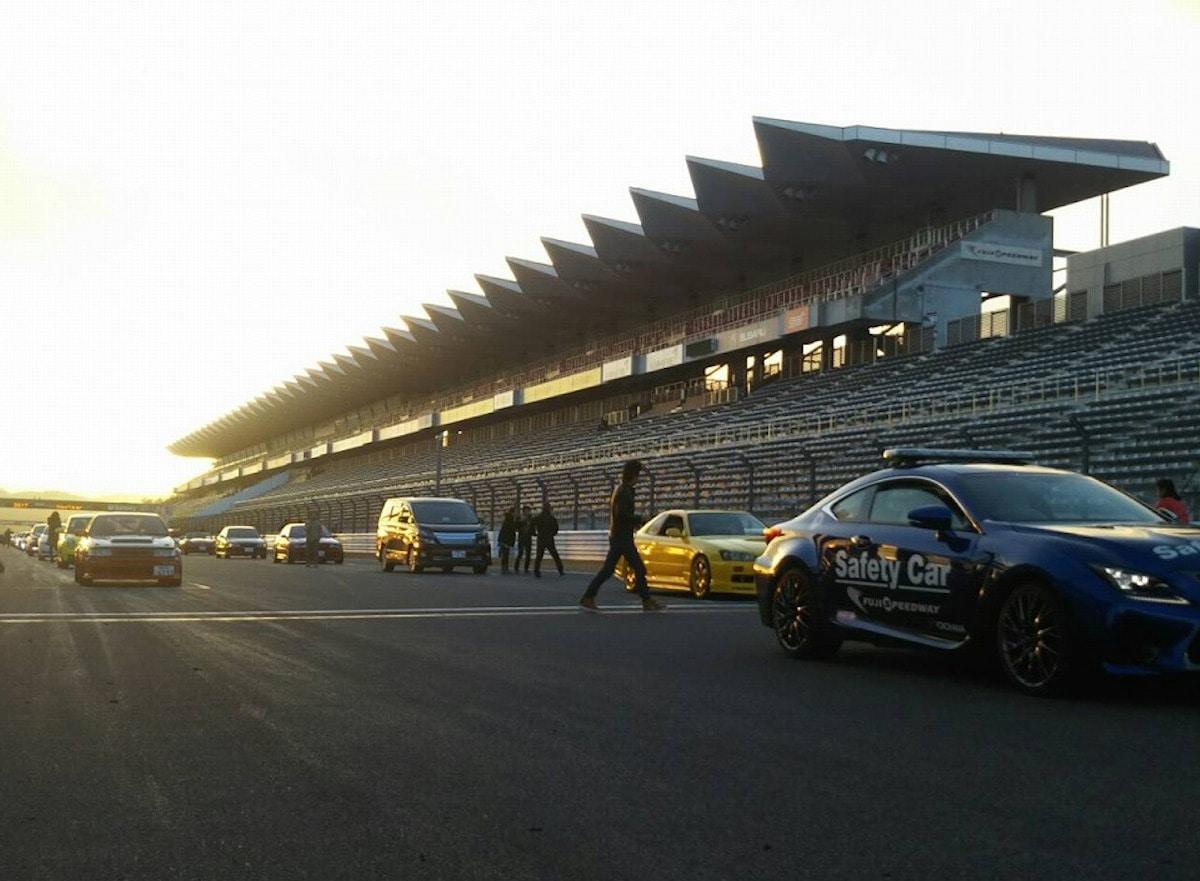 レーシングコースを一般開放 - 富士山経済新聞