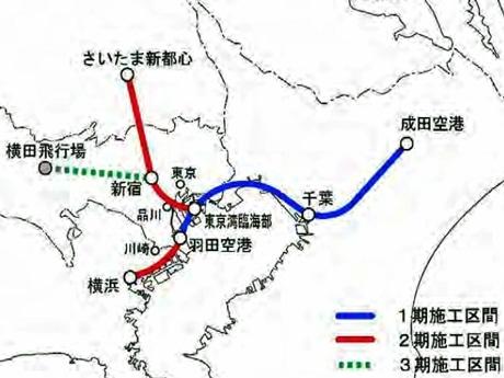 羽田~成田を15分で結ぶリニア構想-神奈川県が調査結果発表 ...