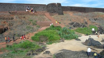 Bekal Fort-a view from the beach