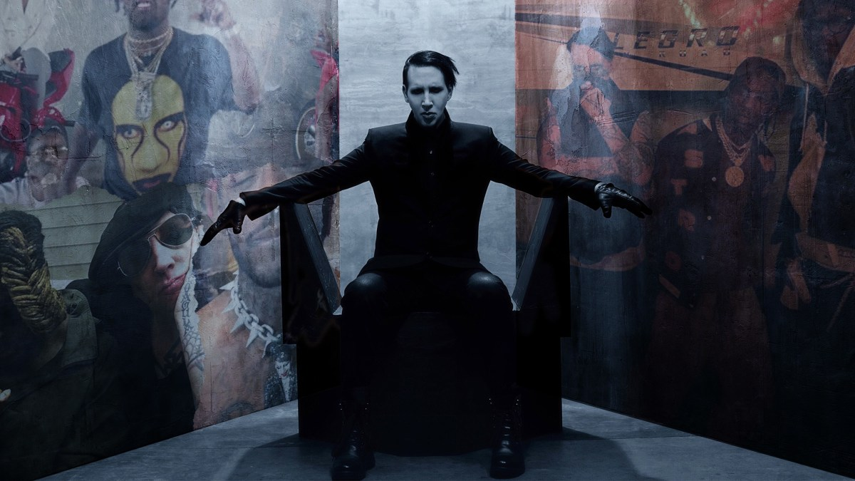 marilyn manson became a hip hop icon