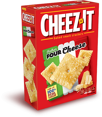 CheezIt Baked Snack Product Varieties