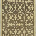 K0039891 Beige Brown All Wool Hand Knotted Vintage Area Rug 3 11 X 6 4 47 In X 76 In The Source For Hand Knotted Vintage Rugs Hand Woven Kilim Rugs Wool Turkish