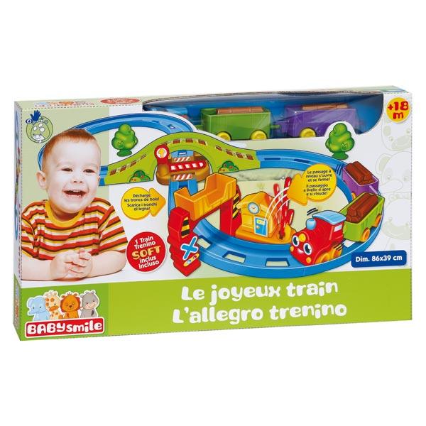 Circuit Train Baby Smile King Jouet Garages Et Circuits