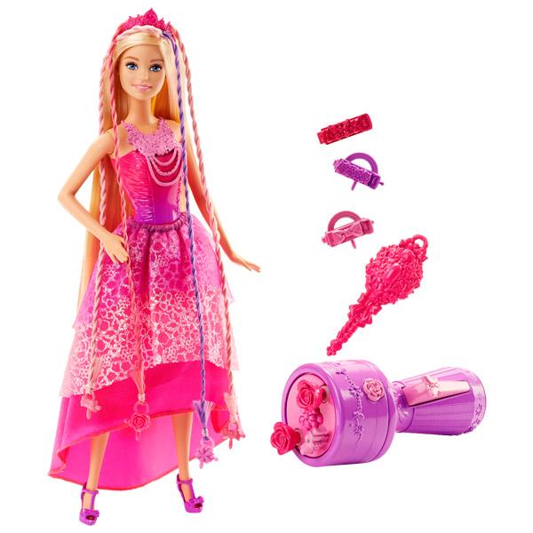 Barbie Princesse Tresse Magique Mattel King Jouet