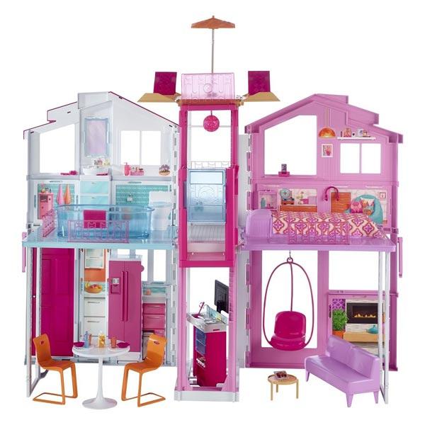 Barbie Maison De Luxe Mattel King Jouet Poupes