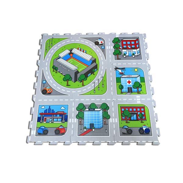 dalles mousse circuit 9 pieces