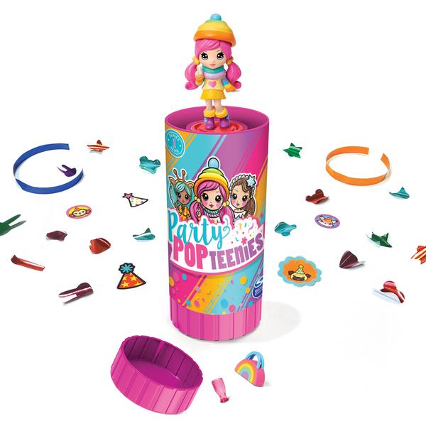 Party Pop Teenies Surprise Spin Master King Jouet