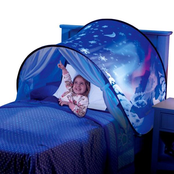 tente de lit dream tents hiver enchante