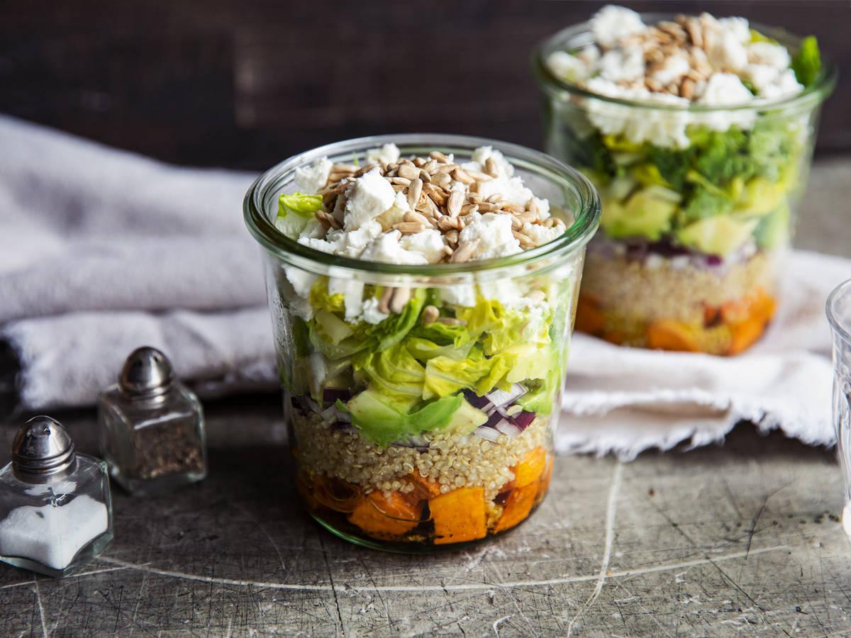 藜麥沙拉杯 | 食譜 | 廚房故事