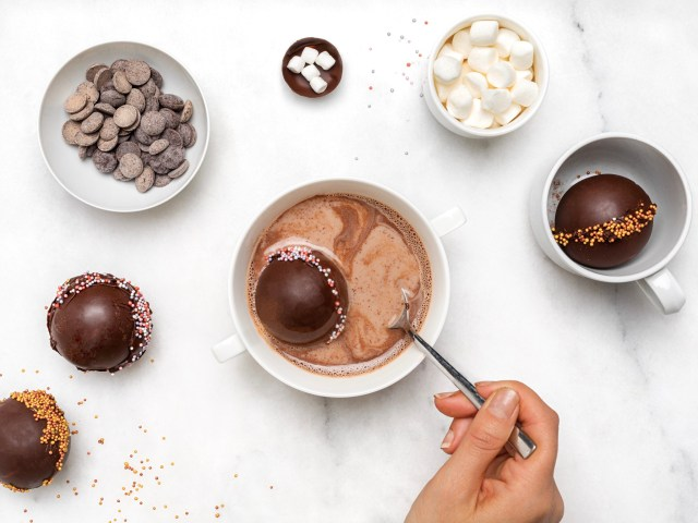 TikTok's viral hot chocolate bombs