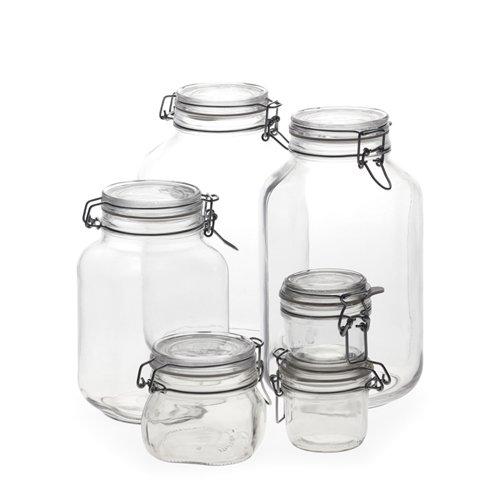 Bormioli Rocco Fido Hermetic Jars