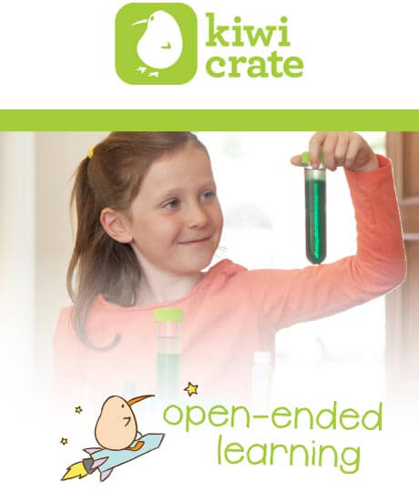 Kiwi Crate - open-ended learning