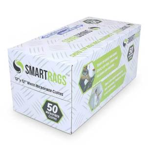 White Smart Rags in Convenient Dispenser Box