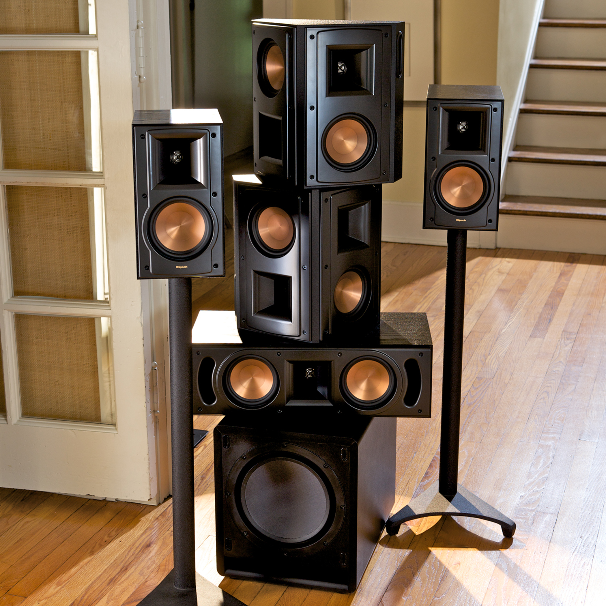 rb-51 ii bookshelf speakers (pair) | klipsch