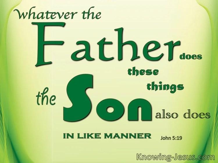 Image result for John 5:19