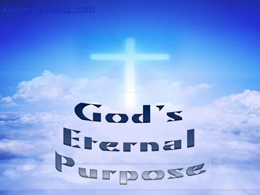 Image result for the eternal purpose
