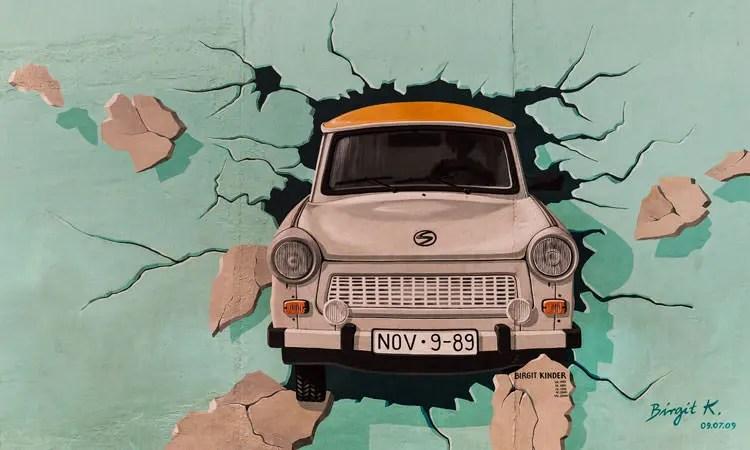 بخش شرقی دیوار برلین
