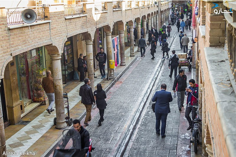 از لاله زار تا بازار تهران