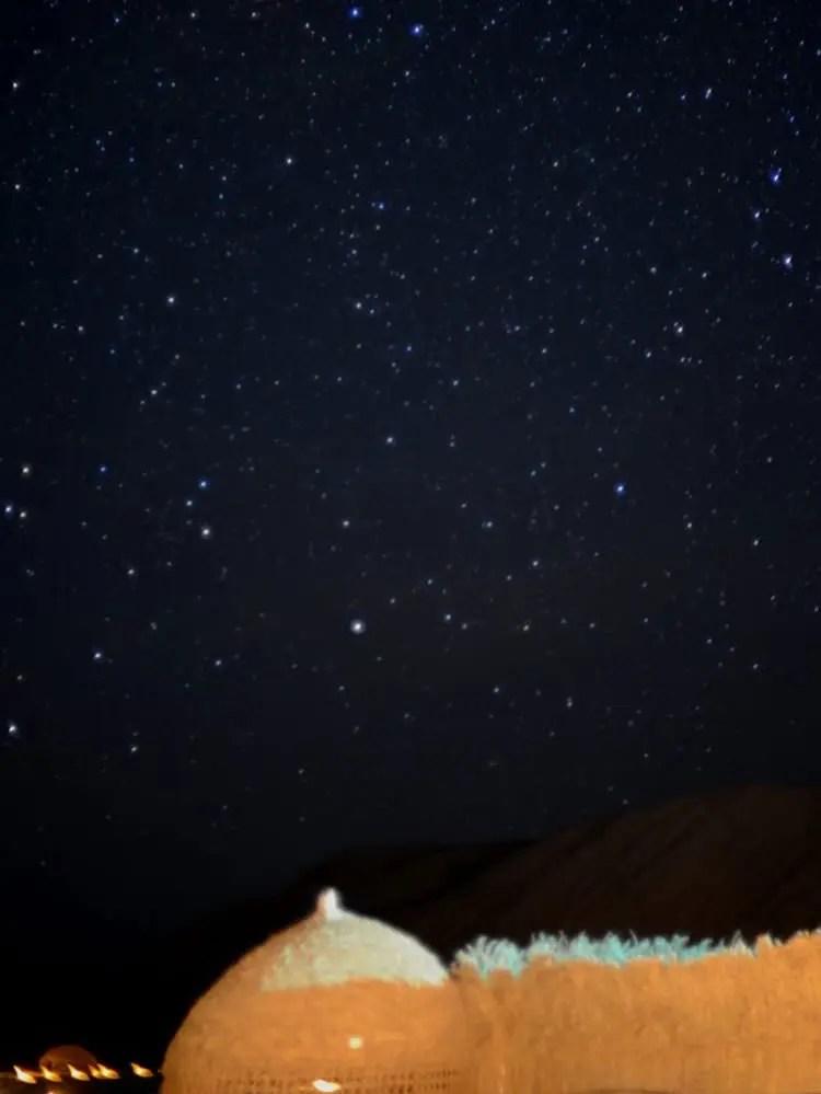 آسمان شب کلوت شهداد