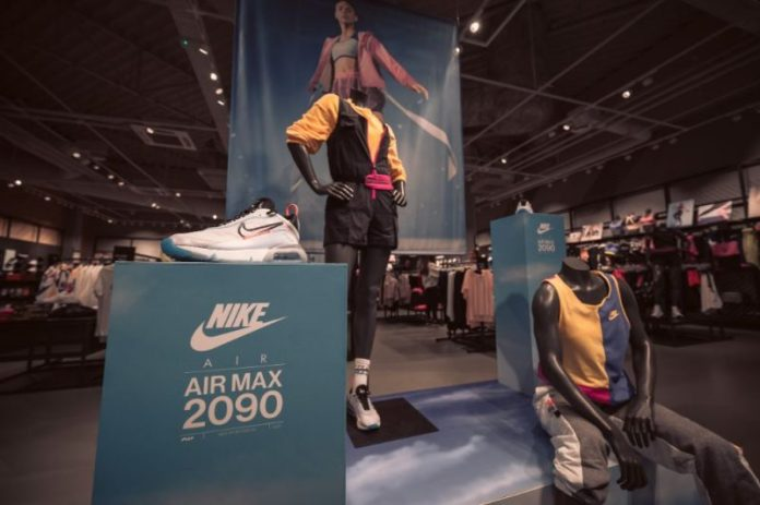 The Spice shopping center has launched the largest & # 8220; Nike & # 8221; the shop