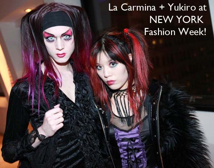 LA CARMINA & YUKIRO AT NEW YORK FASHION WEEK! SPEAKING AT IFB CONFERENCE, HOSTING NYFW EVENTS, RUNWAY SHOWS. independent fashion bloggers conference, evolving influence, ifbcon, ifbcon 2012, the coveted, fashion bloggers conference, how to get tickets to ny fashion week, mbfashionweek, mercedes benz fashion week, new york city fashion, runway shows, fashion show invites, invitations, blogger events, fashion blog collaborations