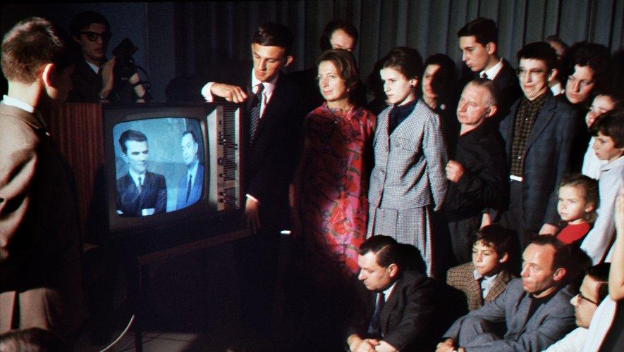 il y a 50 ans la couleur apparaissait