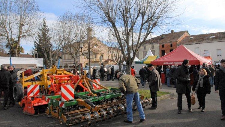 Le matériel agricole d'occasion attire les convoitises./Photo DDM, J. G.