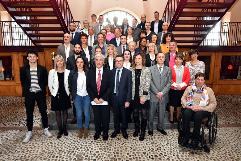 La liste présentée par le maire de Tarbes Gérard Trémège.