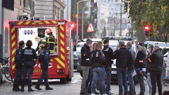 Le père Nikolaos de l'église orthodoxe de Lyon a été attaqué ce samedi 31 octobre alors qu'il fermait son église