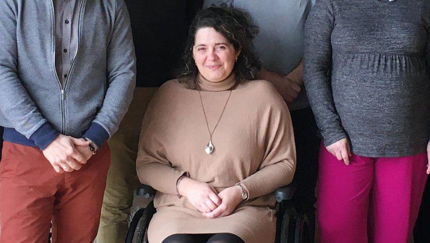 Sandra Vicente en 2020.
