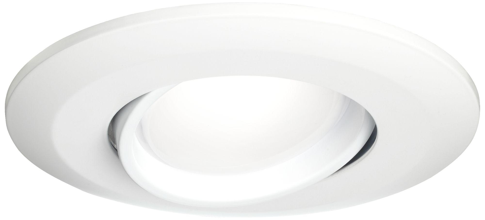 4 white gimbal retrofit 10w led eyeball downlight