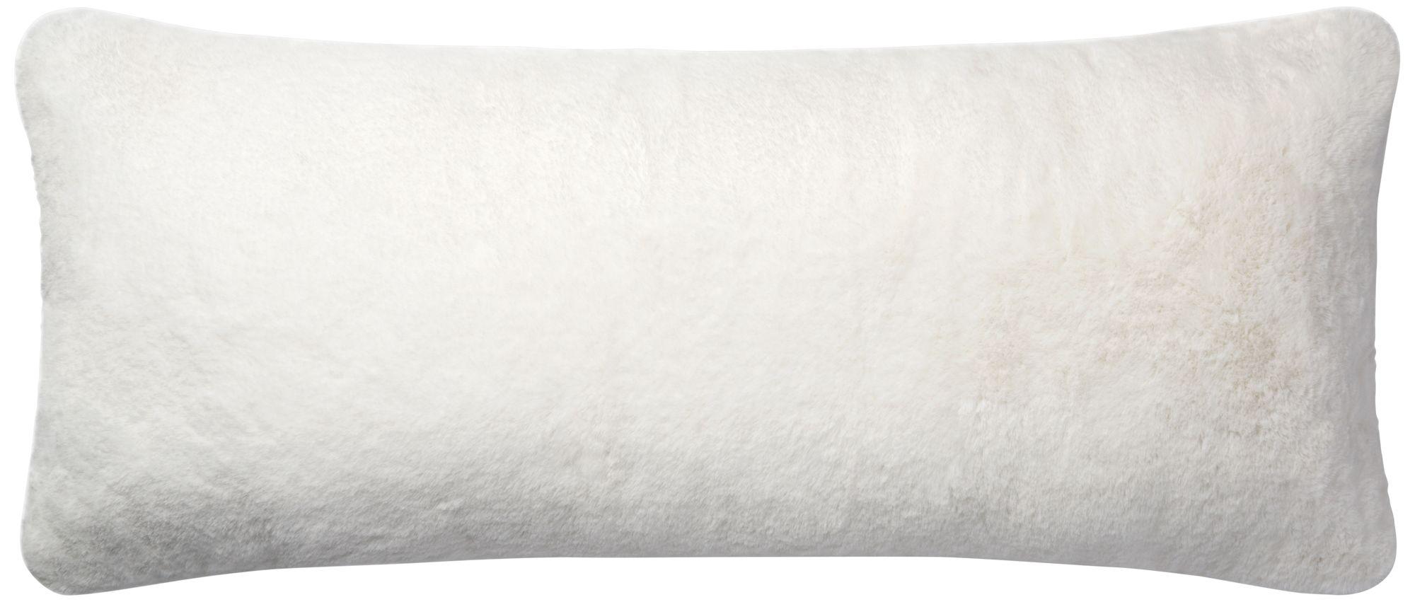loloi white 13 x35 rectangular throw pillow