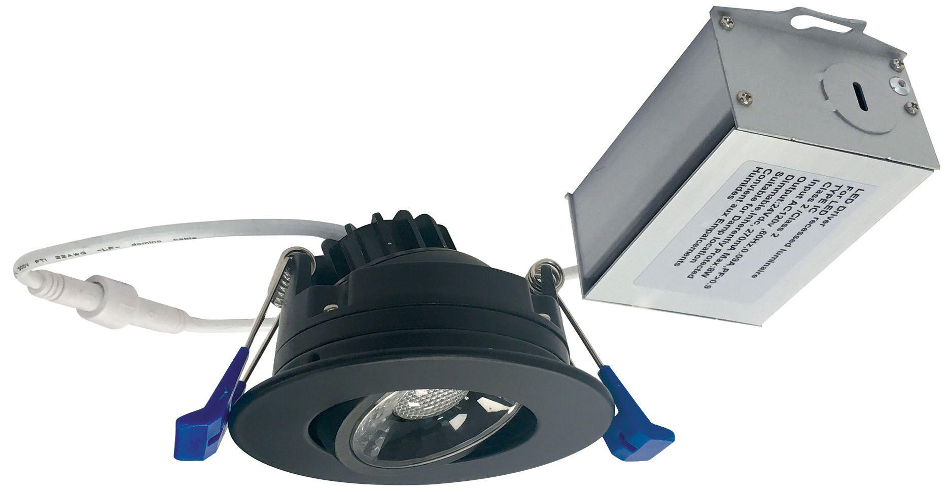black recessed lighting lamps plus