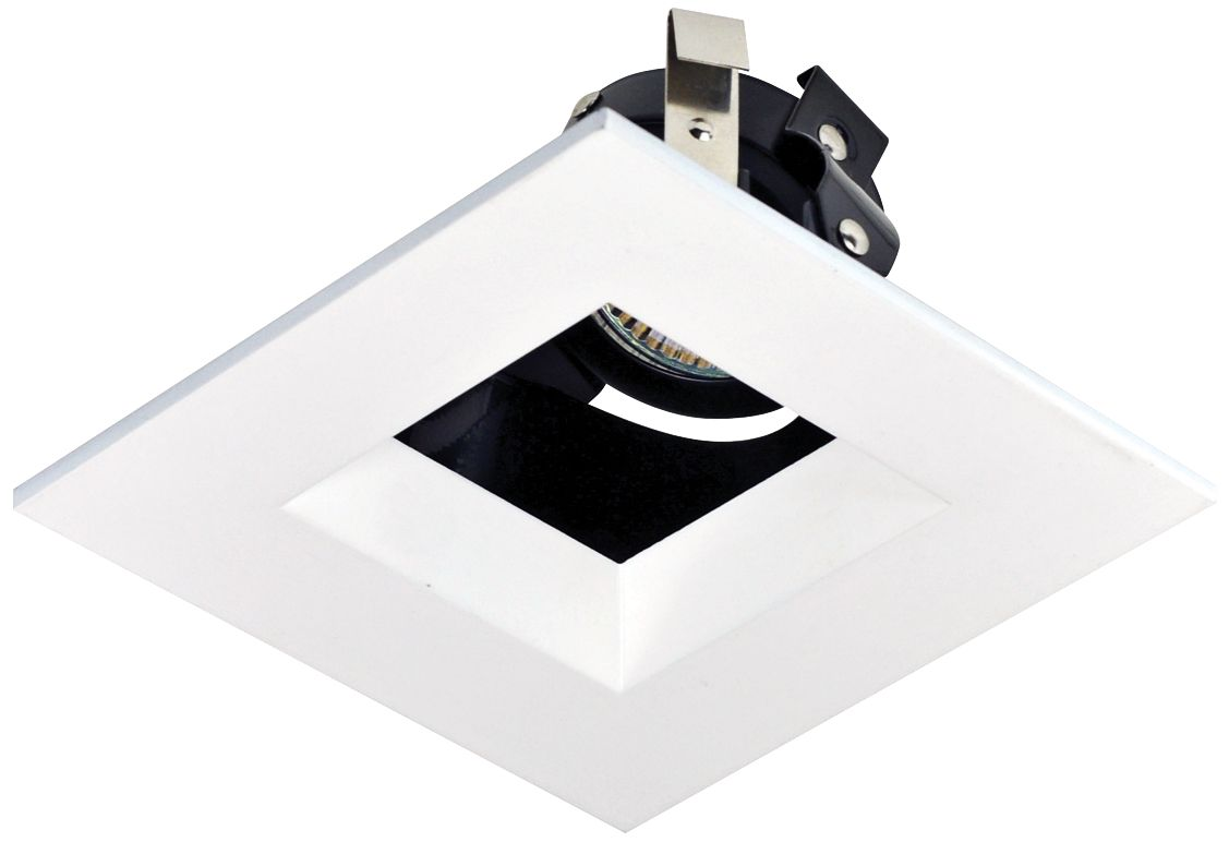 recessed trim for 4 housing with adjustable square opening
