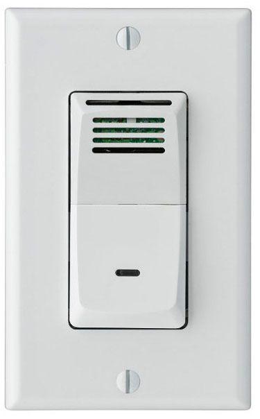 sensaire humidity sensing wall switch for bath exhaust fan