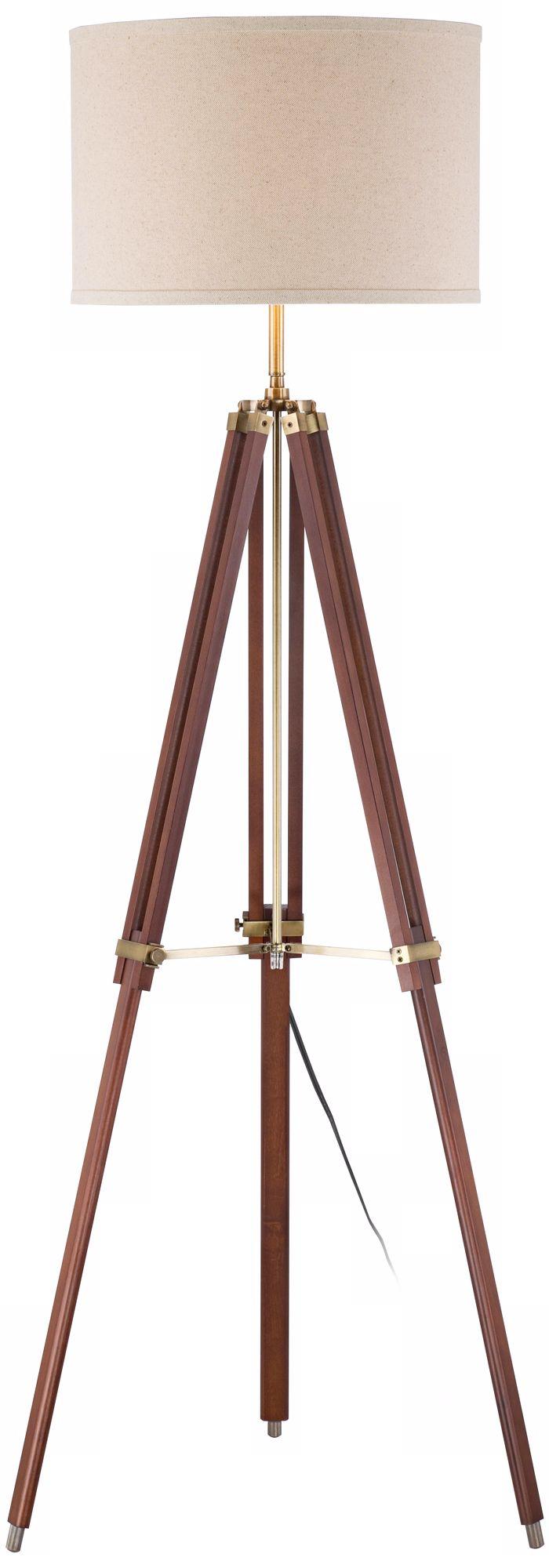 https www lampsplus com products surveyor cherry wood tripod floor lamp by possini euro w1650 html